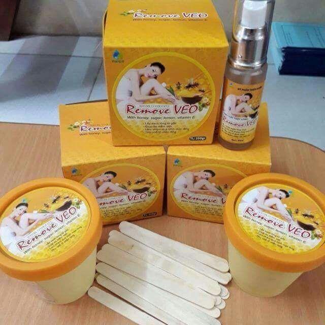 Bộ wax lông + tinh chất triệt lông Veo nhập khẩu