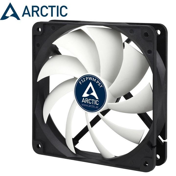 Hình ảnh Fan Case Arctic F12 PWM PST - Quay êm, sức gió lớn, giảm nhiệt mạnh mẽ