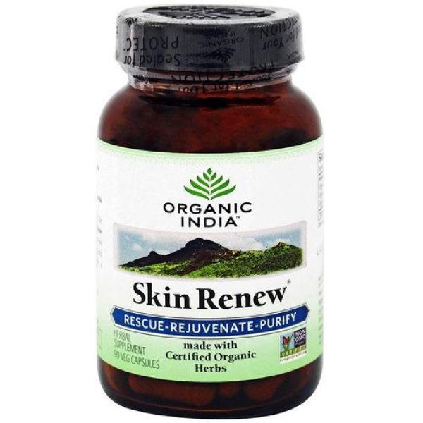 Viên uống phục hồi da Organic India Skin Renew 90 viên giá rẻ