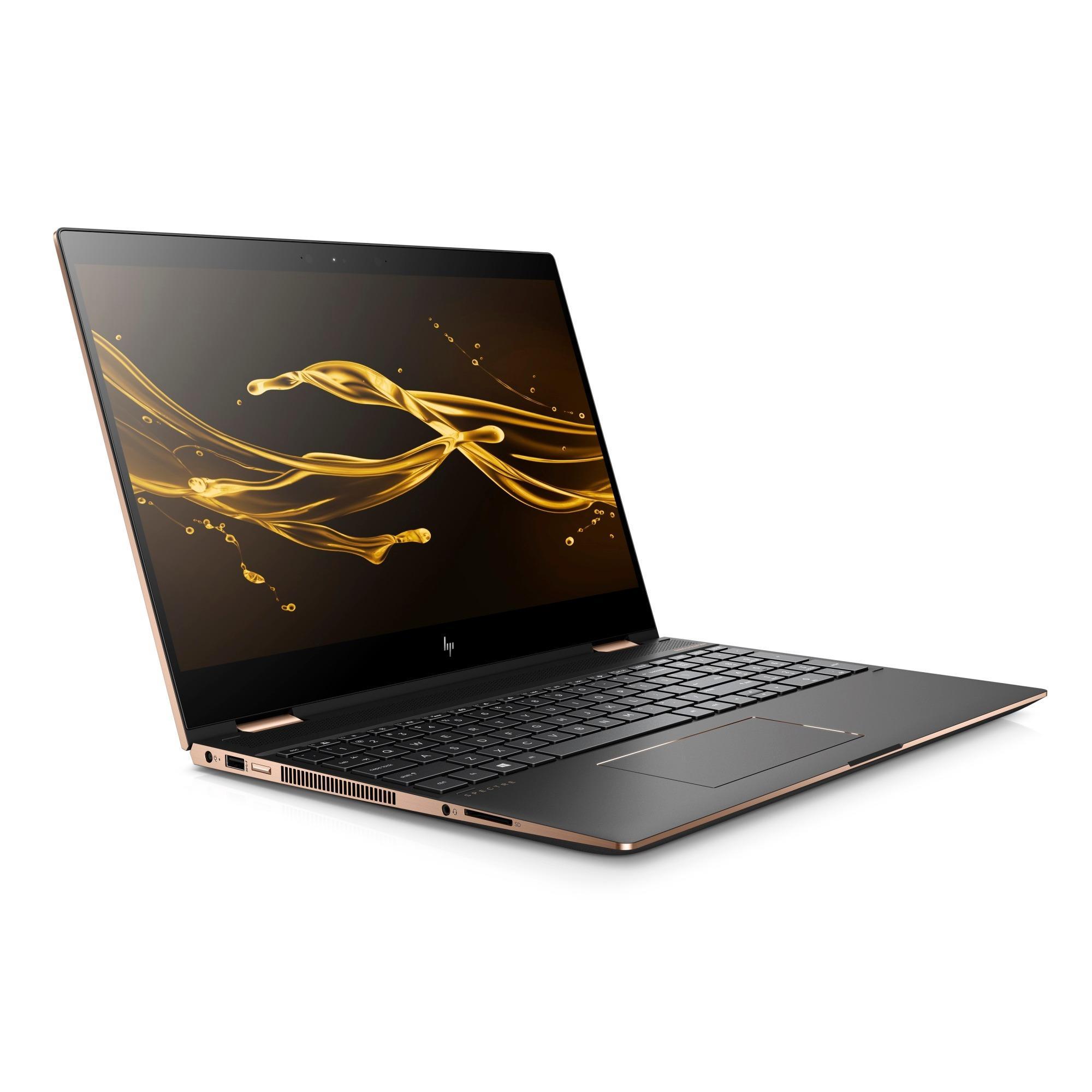 Hình ảnh HP Spectre 15 x360 i7-8550U RAM 16GB SSD 512 15in 4K Touch - Hàng nhập khẩu