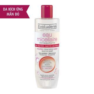 Nước Tẩy trang Evo-luderm eau micellaire 250ml - Đỏ dành cho da nhạy cảm thumbnail