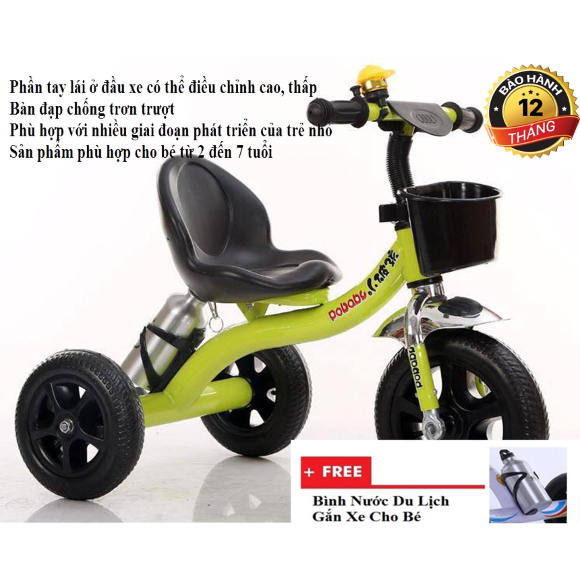 Xe dành cho trẻ em - Xe bình nước trẻ em - Xe đạp 3 bánh cho bé - Thiết kế thông minh, chất liệu cao cấp, món quà không thể thiếu của các bạn nhỏ Bảo hành uy tín 1 đổi 1 ( tặng kèm ngay 1 nình nước cao cấp, số lượng có hạn)