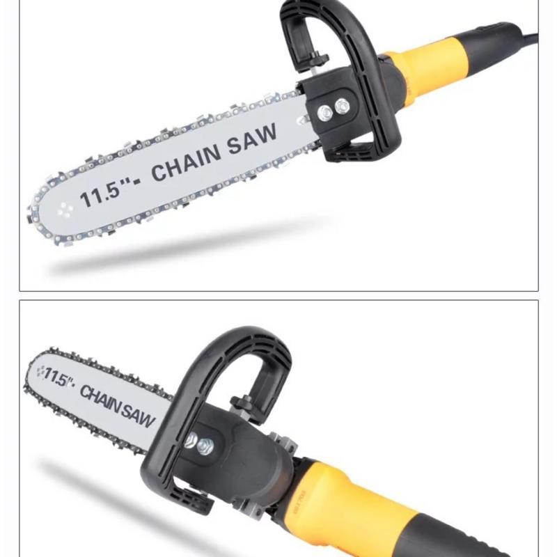 Bộ lam cưa xích dùng cho máy mài cắt cầm tay giá rẻ - dùng để chế tạo làm máy cưa mini