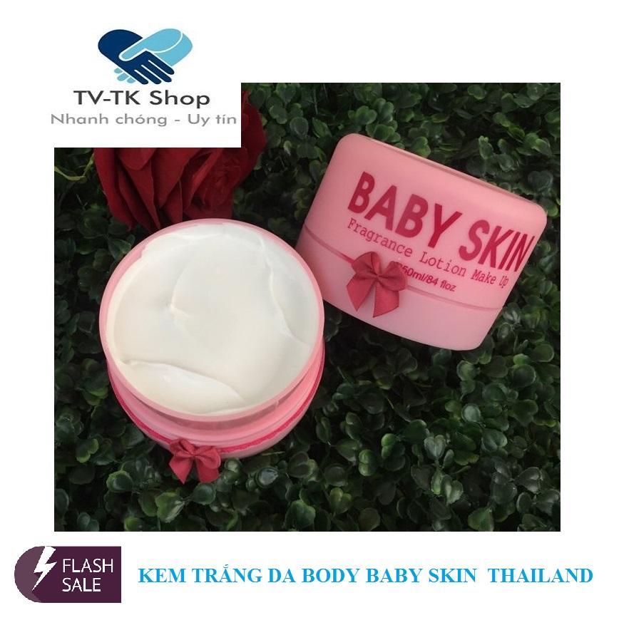 Kem Trắng Da Body Baby Skin Thái Lan (Mẫu mới)