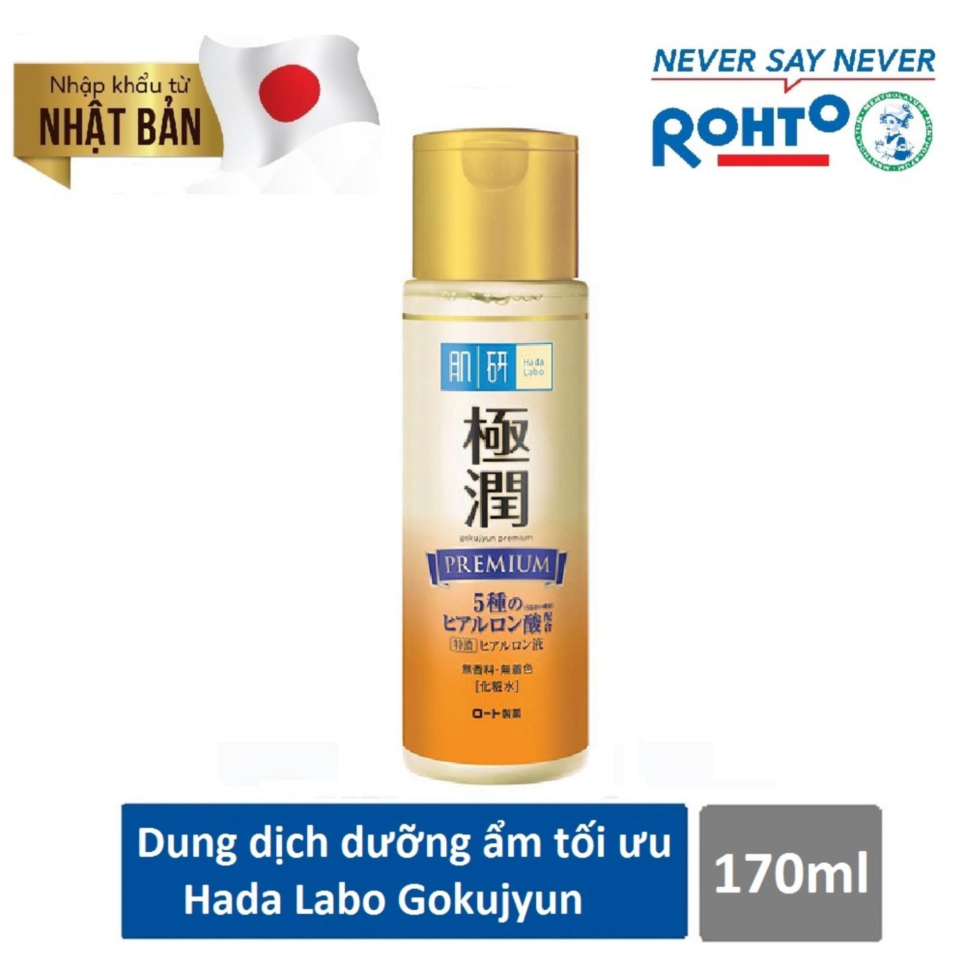 Cửa Hàng Dung Dịch Dưỡng Ẩm Tối Ưu Hada Labo Gokujyun Premium Lotion 170Ml Nhập Khẩu Từ Nhật Bản Rẻ Nhất