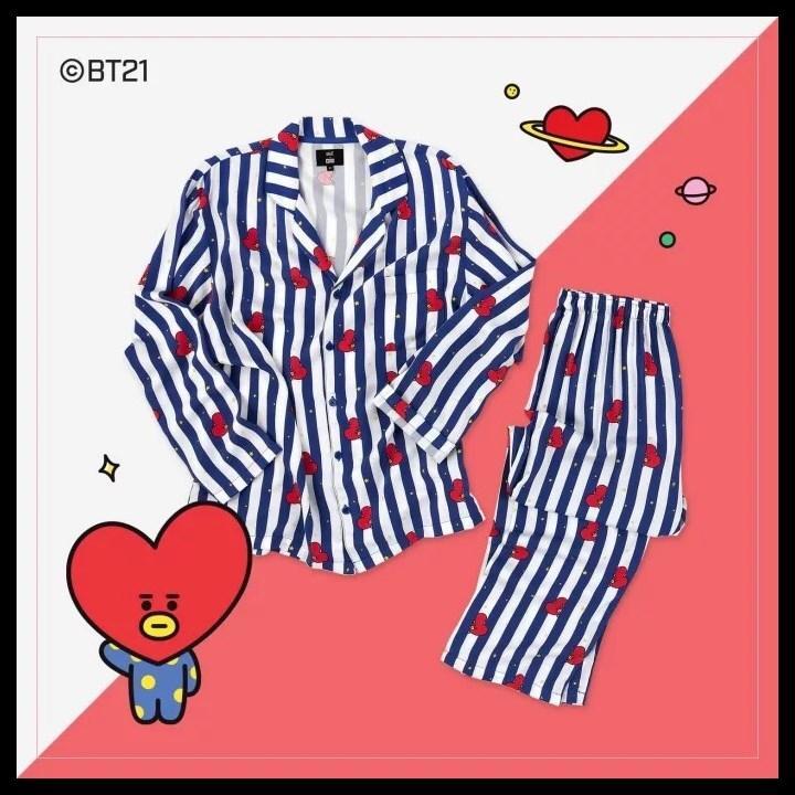 Bộ đồ ngủ pyjama BTS bộ đồ ngủ pyjama BT21