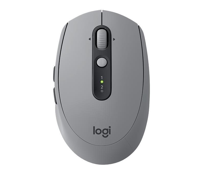 Chuột Không Dây LOGITECH M590 (Bluetooth + Wireless) Xám Giảm Giá Khủng