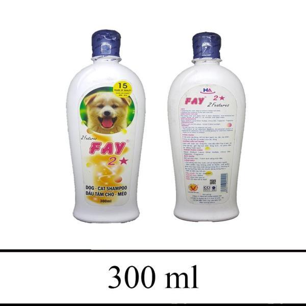 Sữa tắm khử mùi thơm lâu trị ve ghẻ - Fay sữa tắm 2 sao 300ml(Hình sản phẩm có thể thay đổi theo lô)