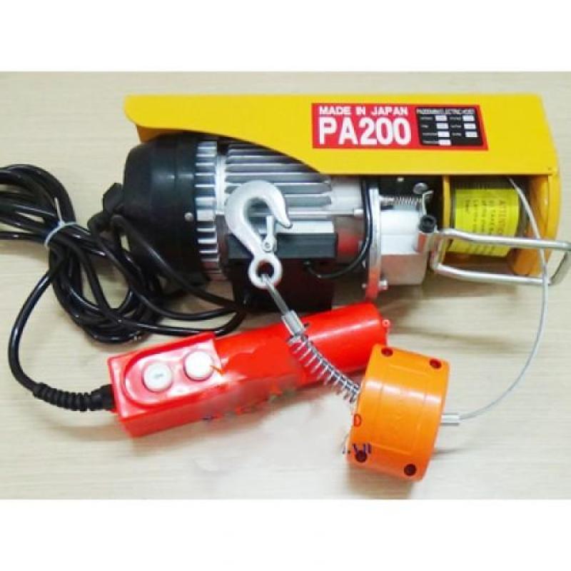 Tời điện PA200 cáp 20m - 510W - 100/200kg