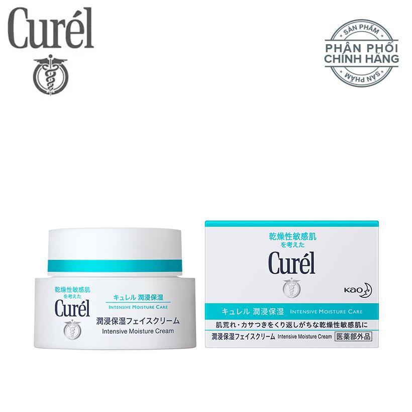 Kem dưỡng da cấp ẩm chuyên sâu Curél Intensive Moisture Care Intensive Moisture Cream 40g nhập khẩu