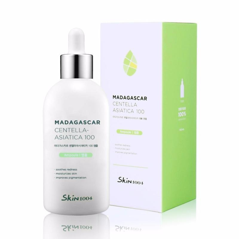 Tinh Chất Rau Má Trị Mụn, Phục Hồi Da, Làm Mờ Vết Thâm Skin1004 Madagascar Centella Asiatica 100 Ampoule 100ml nhập khẩu