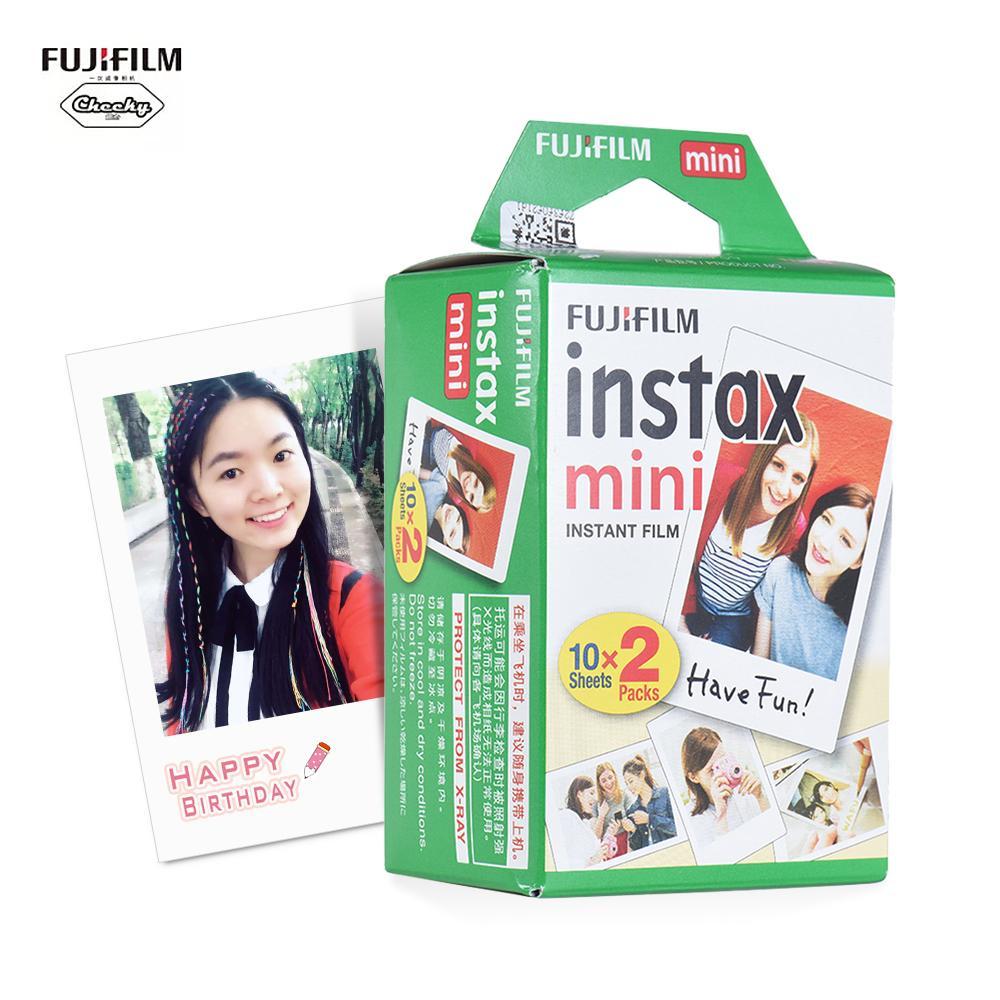 Giảm Giá Quá Đã Phải Mua Ngay FU-Jifilm Instax Mini 20 Tờ Trắng Phim Ảnh Giấy Ảnh Chụp Album Ngay In Hình Cho F-Ujifilm Instax Mini 7 S/8/25/90/9