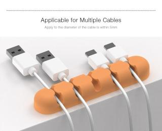 Miếng silicon kẹp giữ đầu dây sạc USB ORICO 1000000999 thumbnail