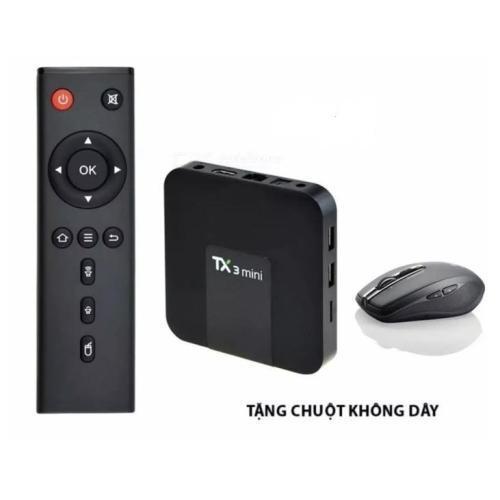 Android TV Box Tanix TX3 Mini Ram2G 4k 3D Tặng Kèm Chuột Không Dây Trị Giá 150k Giá Hot Siêu Giảm tại Lazada