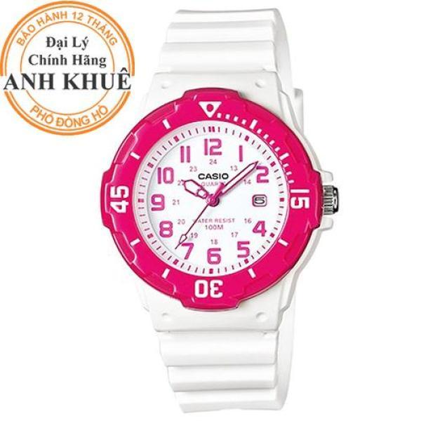 Nơi bán Đồng hồ nữ dây nhựa Casio Anh Khuê LRW-200H-4BVDF
