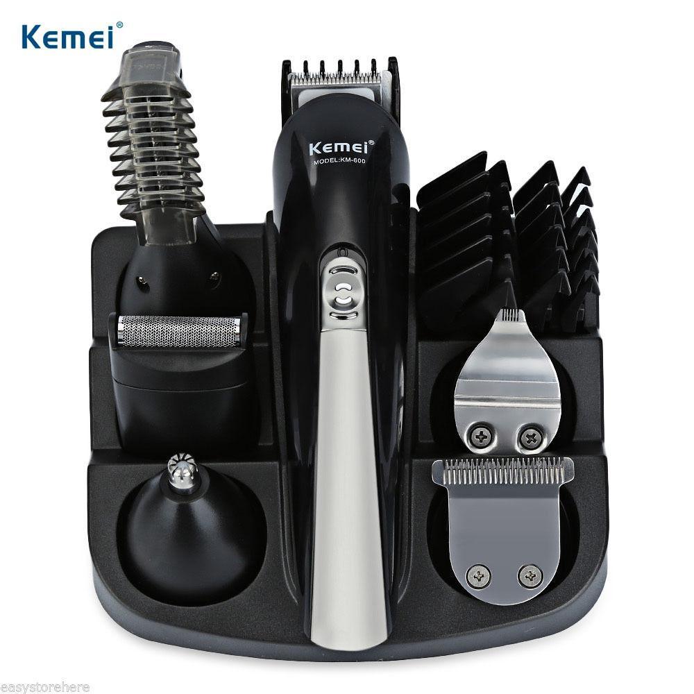 Tông đơ cắt tóc kemei 600 chuyên dụng 11 in 1  đa chức năng
