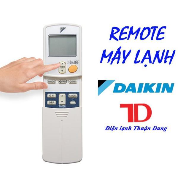Remote máy lạnh Daikin viền đen không nút
