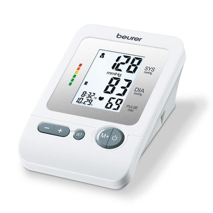 Máy đo huyết áp bắp tay Beurer có hẹn giờ BM26