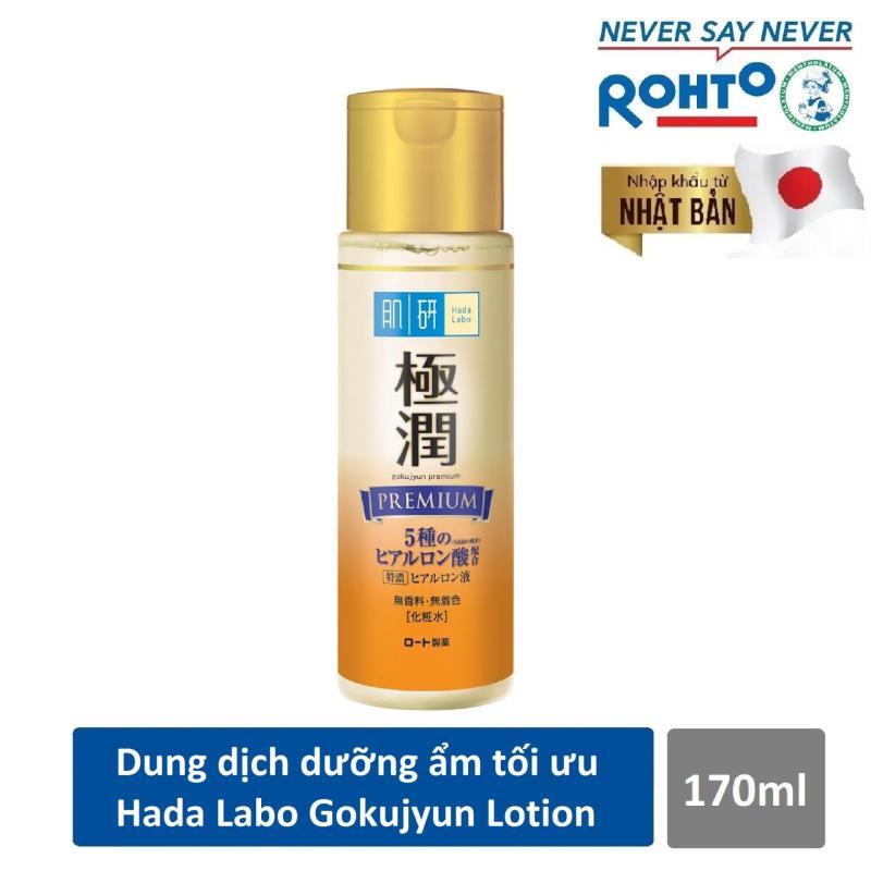 Dung dịch dưỡng ẩm tối ưu Hada Labo Gokujyun Premium Lotion 170ml ( Nhập khẩu từ Nhật Bản) giá rẻ