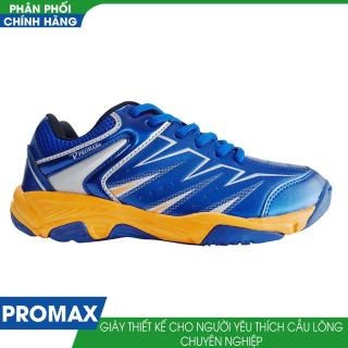 Giầy cầu lông nữ Động Lực Promax 17009 ( Xanh vàng) thumbnail