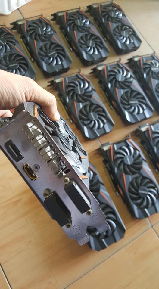 Hình ảnh Vga giga GTX 1060 3gb- DDR5 - 192 bít