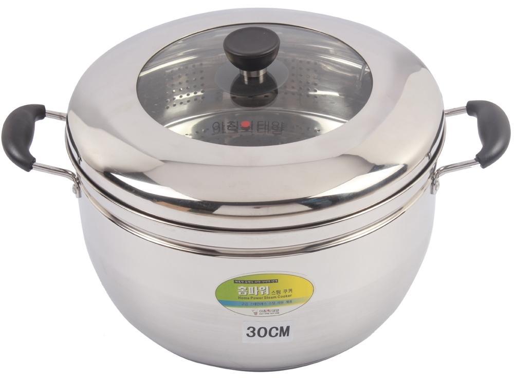 Nồi hấp inox Steam Cooker 30cm