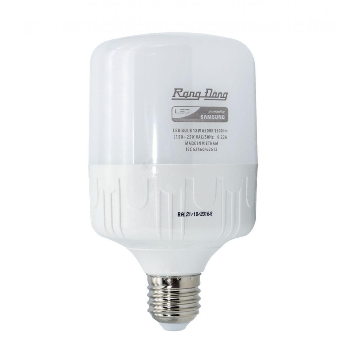 Giá Bán Bong Đen 50W Rạng Đong Led Bulb Trụ E27 Rẻ Nhất