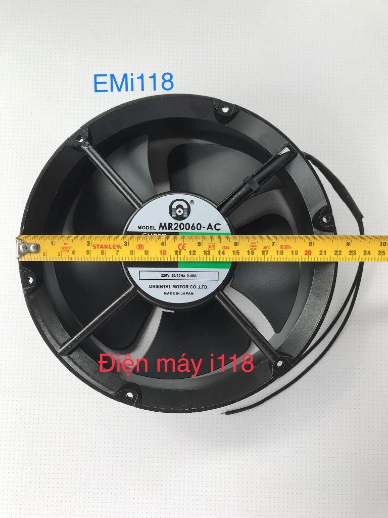 Hình ảnh Quạt thông gió tròn SUPER ORIX 22 x 06 (cm) 220V