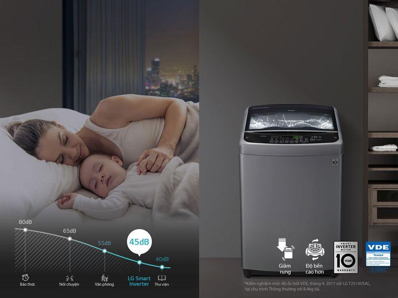 Máy giặt LG T2385VS2M 8.5 kg