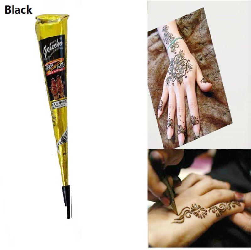 Mực vẽ henna tattoo màu đen