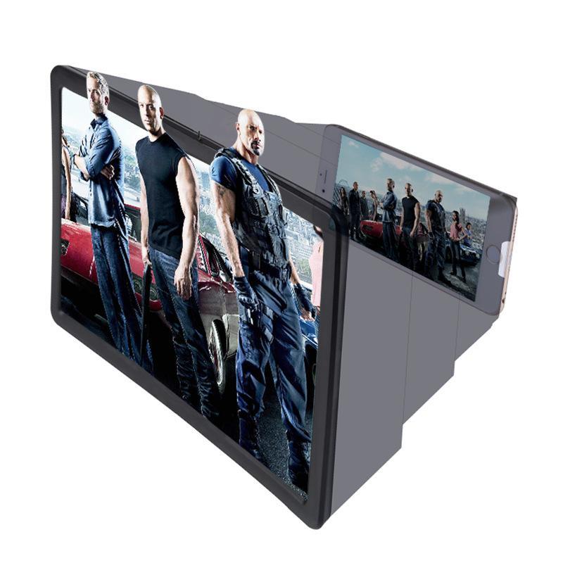 Kính 3D.Kính Xem Phim Phóng đại 3D Phiên Bản Nâng Cấp Thế Hệ F2 Điện Thoại Di Động động Khuếch đại HD Phóng Xạ Kính Lúp 3D điện Thoại Di động Video Kính Lúp Đang Ưu Đãi Giá