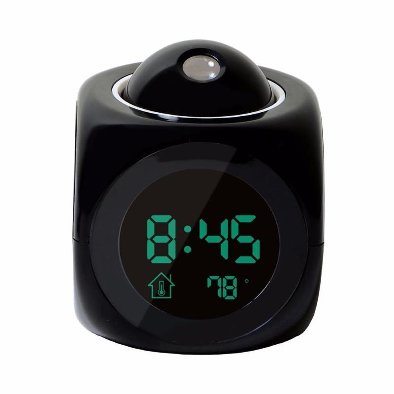 Đồng hồ báo thức có đèn Led chiếu giờ đa năng    đồng hồ báo thức hiển thị nhiệt độ bán chạy