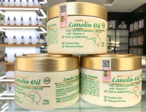 Australian Lanolin Oil Day Moisturising Cream MK II Kem dưỡng da ban ngày Mỡ cừu MK II
