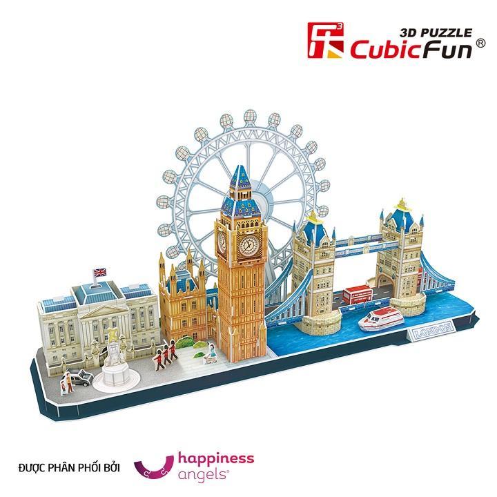 Hình ảnh Mô hình giấy 3D Cubic Fun Cityline London MC253H