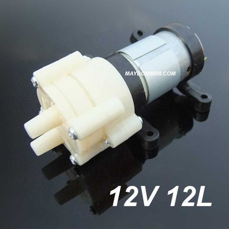 Máy bơm nước mini áp lực 12V 12W 2L