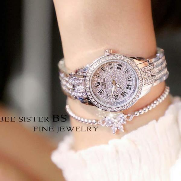 Đồng hồ nữ đính đá thời trang BS FA1501