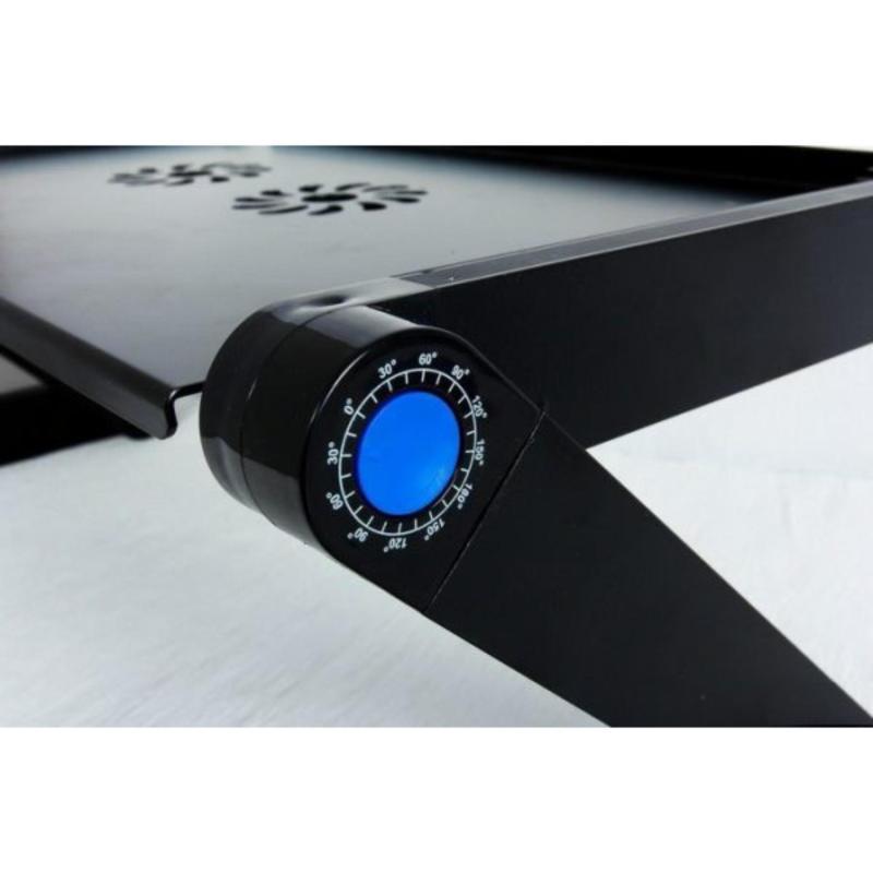 Bàn kê laptop có quạt tản nhiệt tặng miếng lót chuột có đệm cổ tay TN125