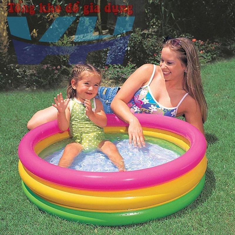 Bể bơi trẻ em 3 tầng 86x25 Intex 58924 - Việt Hiếu