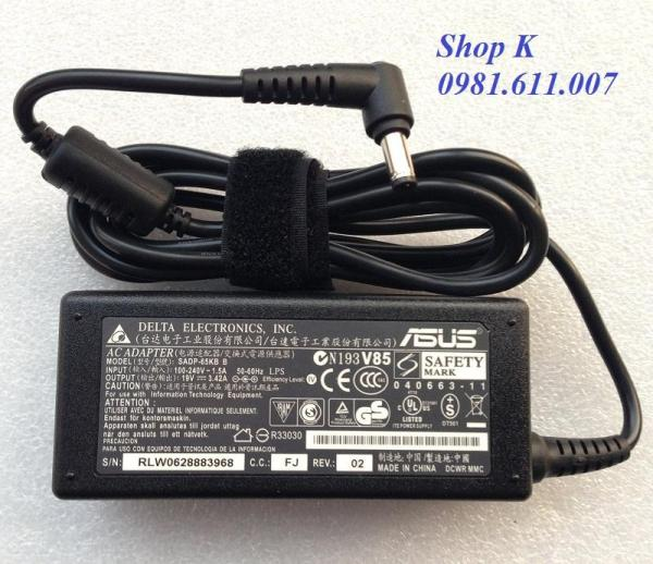 Bảng giá Sạc Laptop Asus. K42 K42F K42D (Màu Đen) Phong Vũ