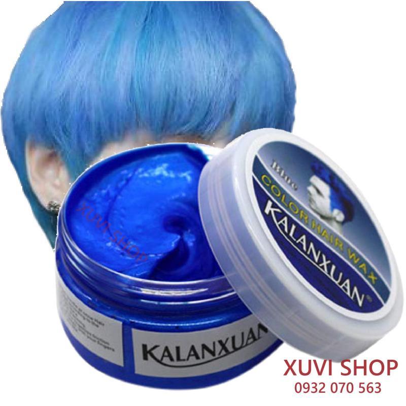 Sáp màu tóc cao cấp Kalanxuan – Sáp đổi màu tóc 7 màu xám khói, xanh khói, đen, nâu, vàng, tím, xanh dương, đỏ hồng, trắng bạch kim cao cấp
