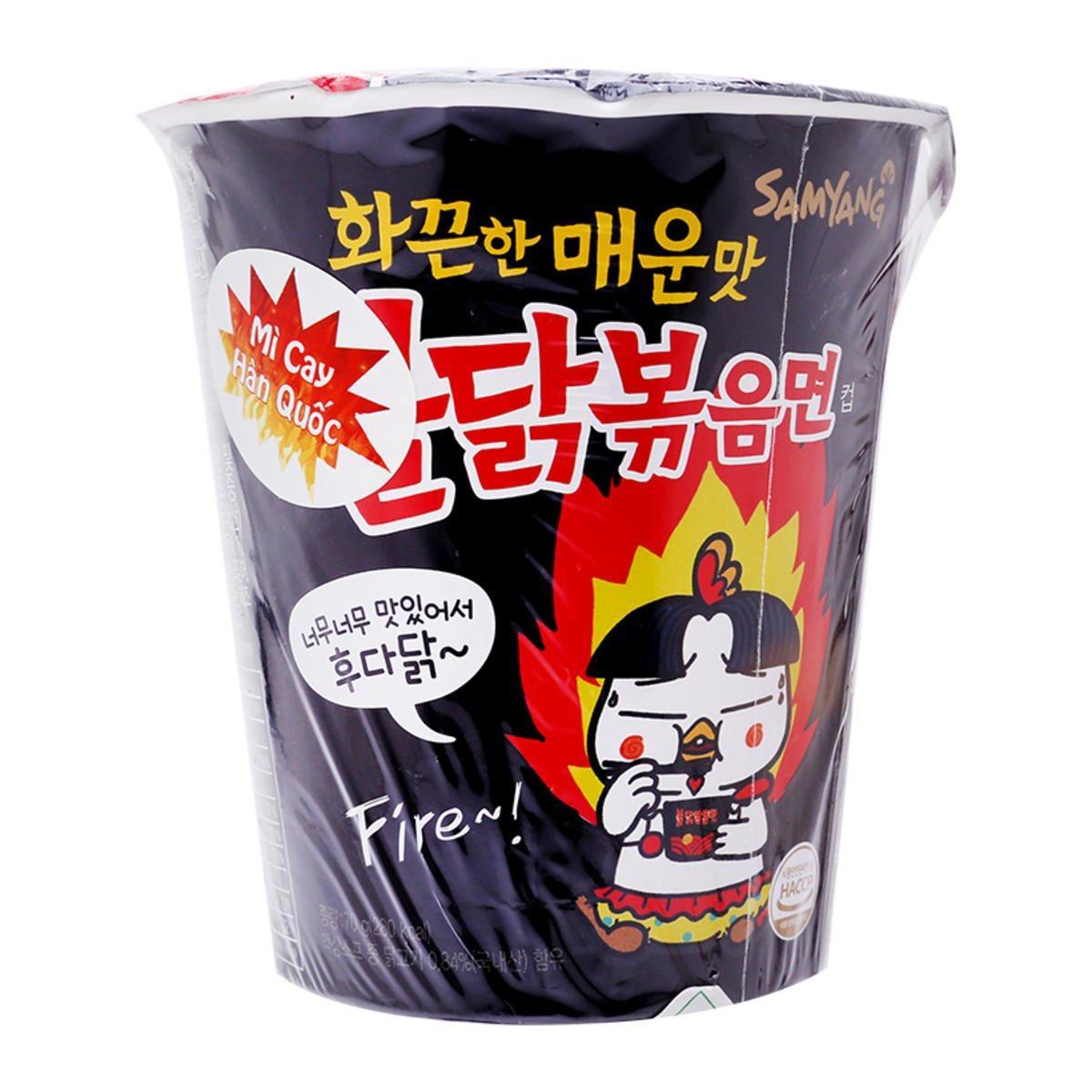 Mì ly gà cay SAMYANG Hàn Quốc 70g