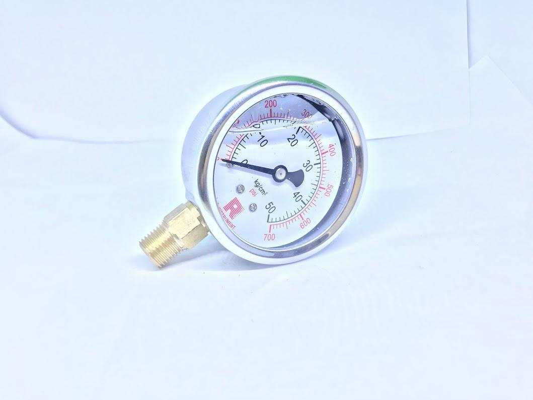 Hình ảnh Đồng hồ dầu R-instrument 50kg phi 63
