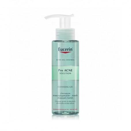 Eucerin Gel rửa mặt dành cho da nhờn mụn ProAcne Cleansing Gel 200ml tốt nhất