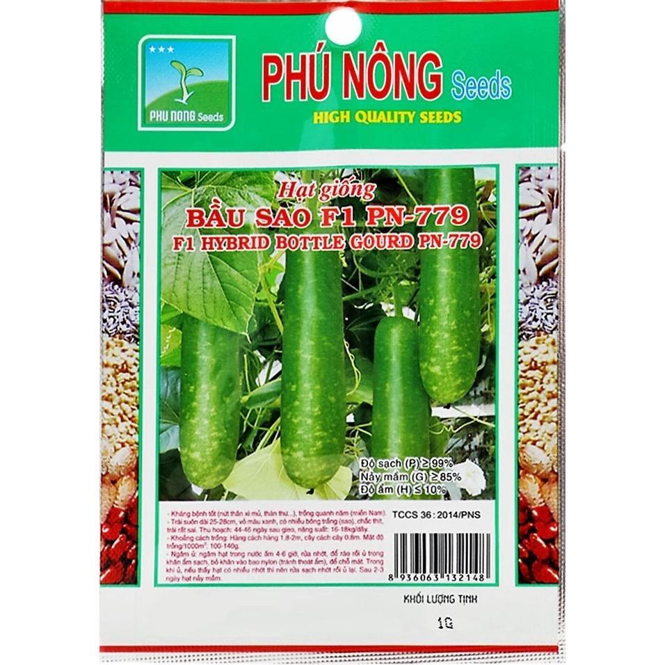 Hình ảnh Hạt giống Phú Nông Bầu Sao F1 PN799- - Gói 1g
