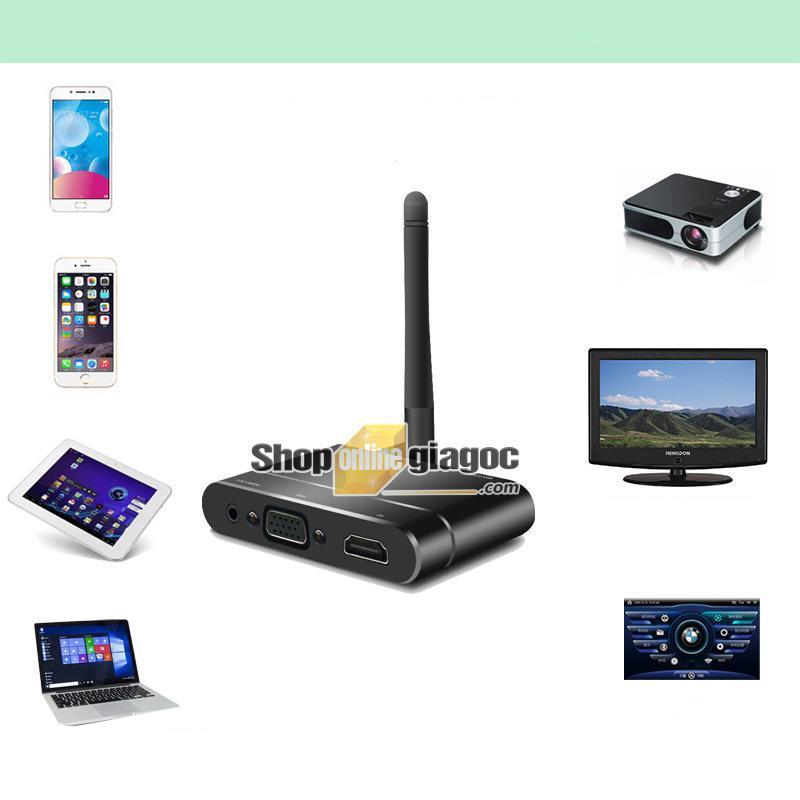 Bảng giá Thiết Bị Thu Phát Tín Hiệu AV+HDMI +VGA Không Dây Phong Vũ