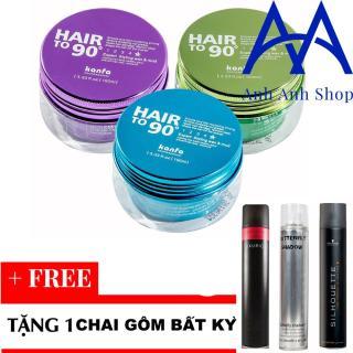 Sáp vuốt Tóc Kanfa Hair To 90 Wax + Tă ng 1 chai gôm bâ t ky thumbnail