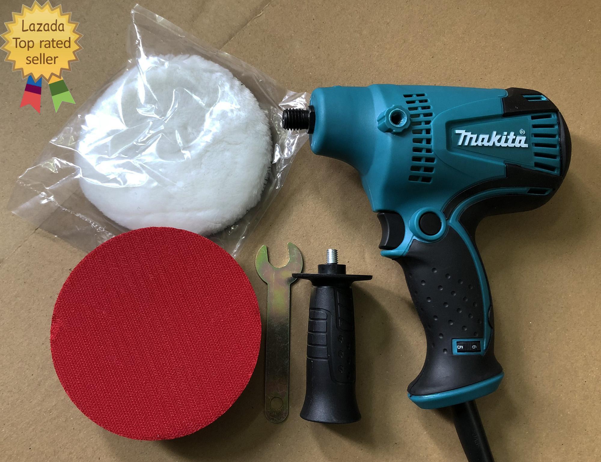 Hình ảnh Máy chà nhám đĩa makita máy đánh bóng Makita GV6010 600W