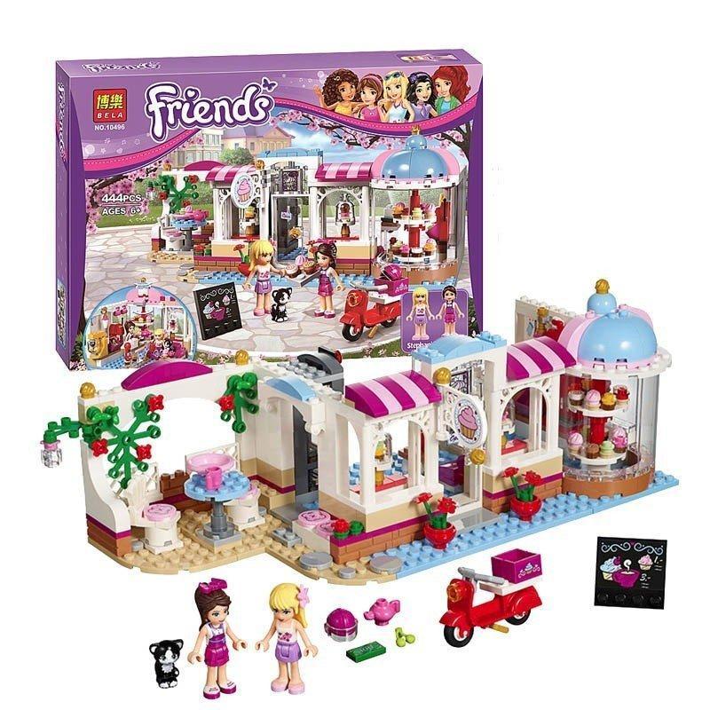 Lego friends 10496- Tiệm cafe bánh ngọt của Naomi