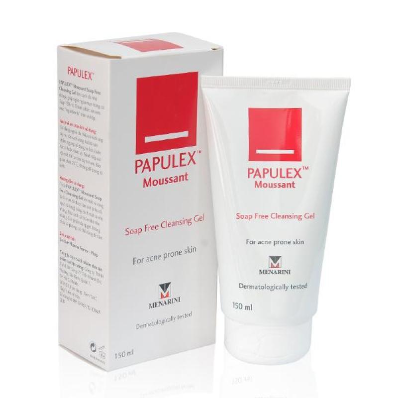 Gel rửa mặt không chứa xà phòng - Soap Free Cleansing Gel 150ml - Papulex nhập khẩu