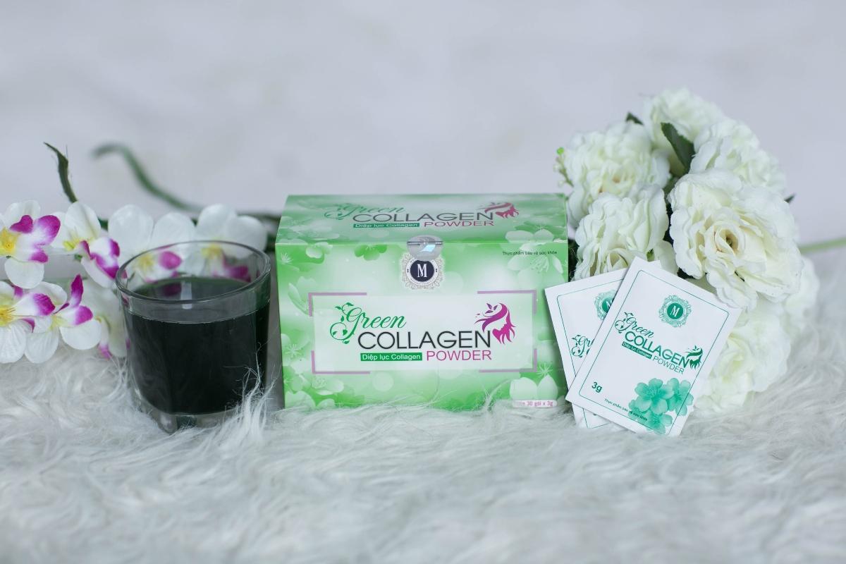 DIỆP LỤC COLLAGEN (GREEN COLLAGEN POWDER